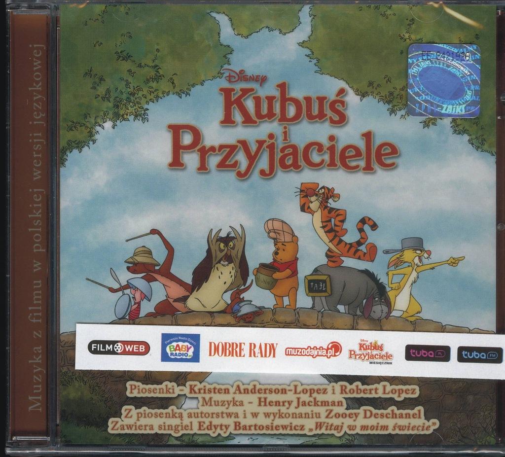 Kubus I Przyjaciele Cd Edyta Bartosiewicz 7411669269 Oficjalne Archiwum Allegro