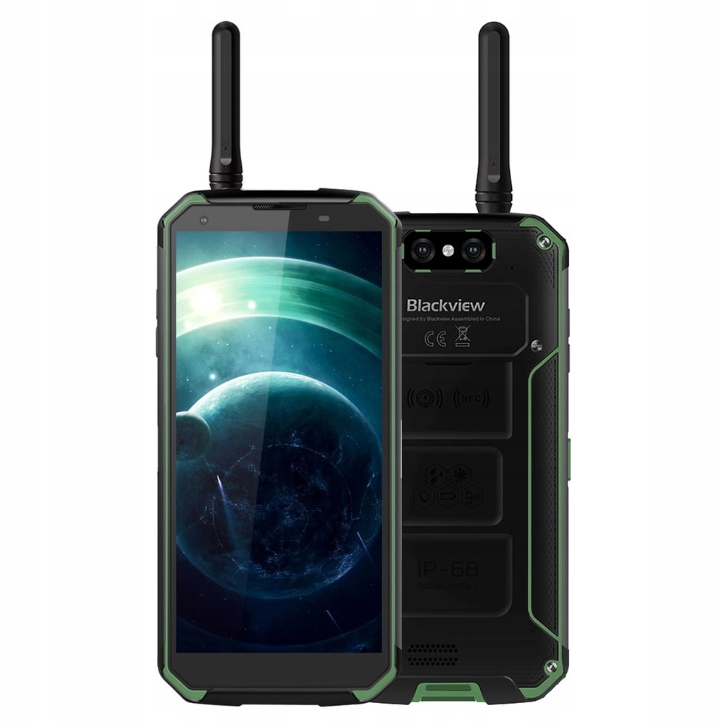 Telefon BLACKVIEW BV9500 PRO IP68 6/128GB ZIELONY