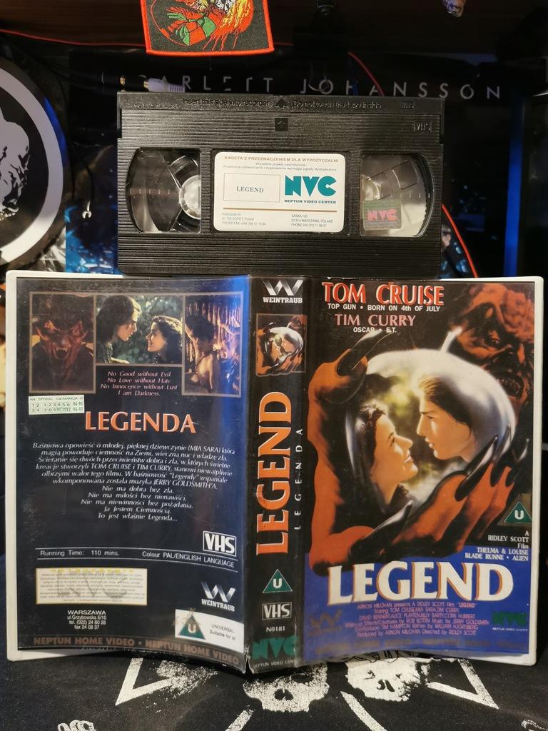 Legenda VHS NVC Neptun Home Video