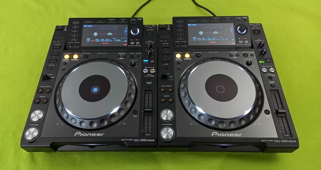 2 X PIONEER CDJ 2000 nexus cdj 2000 / 900 / 850