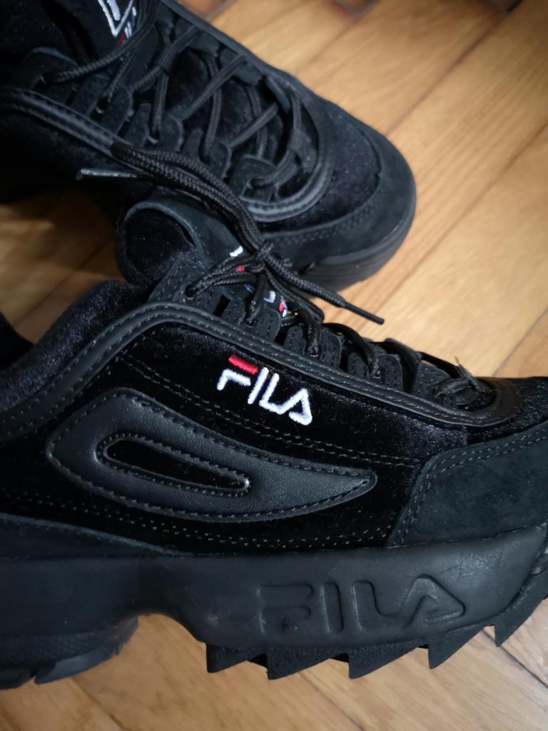 Damskie buty Fila czarne