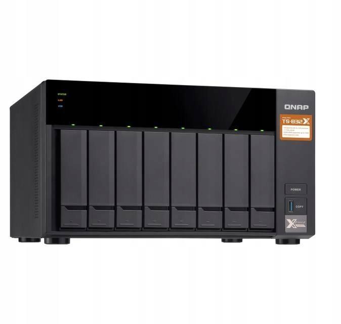 Serwer QNAP TS-832X-2G (USB 3.0)