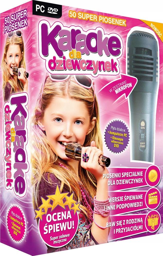 Karaoke Dla Dziewczynek z mikrofonem Kraina Lodu