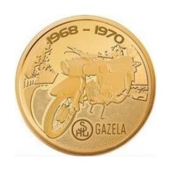 NUMIZMATY ORLEN Ikony Motoryzacji Motocykle GAZELA