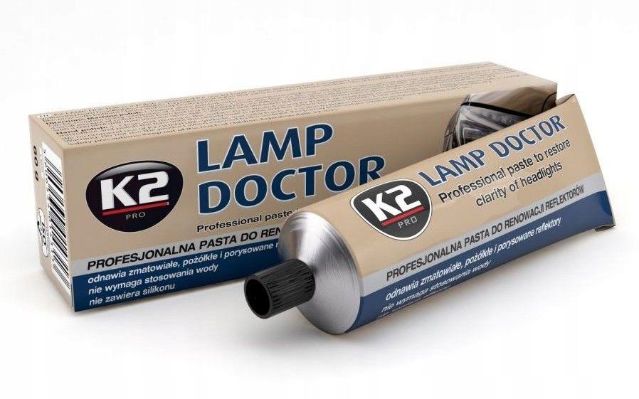 K2 LAMP DOCTOR 60g pasta do renowacji reflektorów