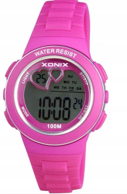 Zegarek Xonix dla dziewczynki do SZKOŁY na basen