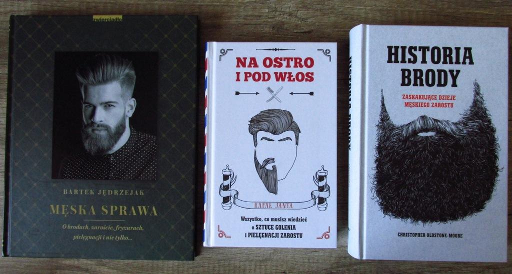 Historia brody. Na ostro i pod włos. Męska sprawa