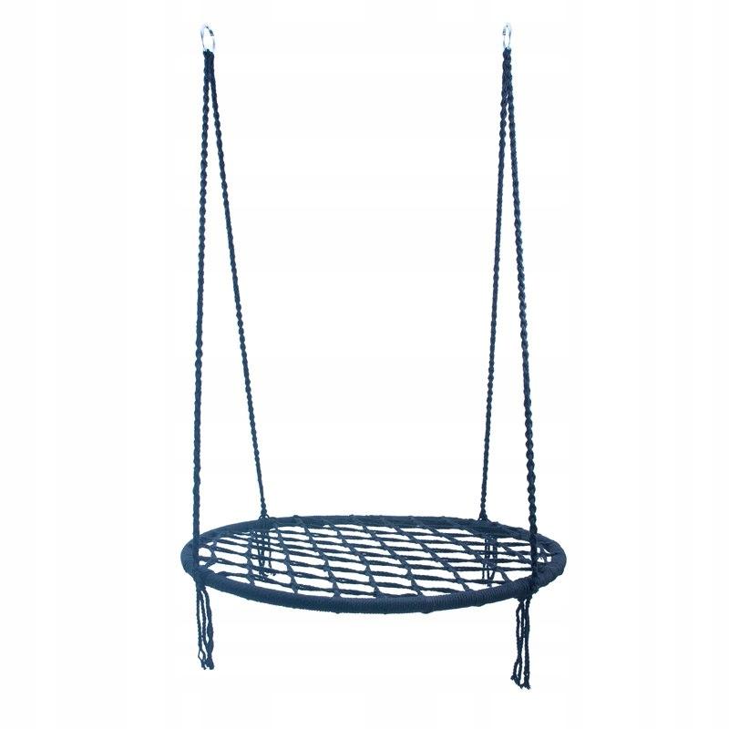 Bocianie gniazdo huśtawka niebieskie 100cm 2 gatun