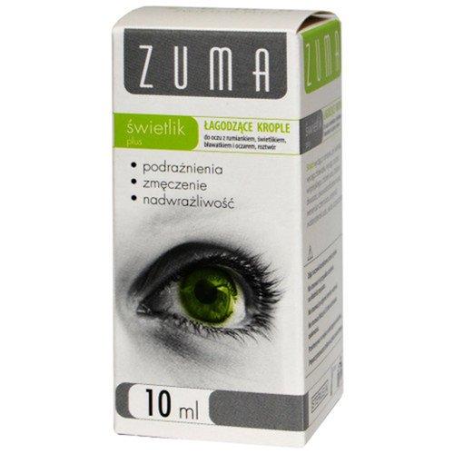 ZUMA Świetlik Plus, krople do oczu 10 ml łagodzące
