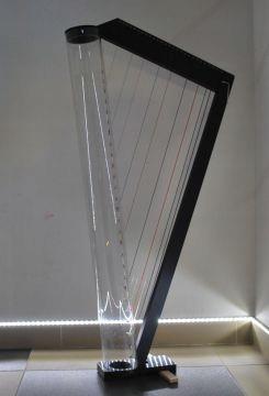 Harfa STEALTH drewno z aluminium 27-strun