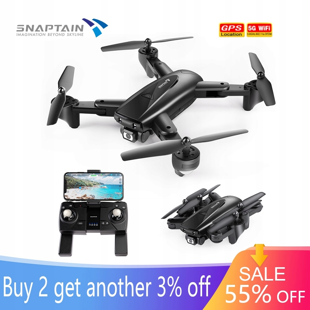 SNAPTAIN SPE500MQ kamera drona Drone składany FPV