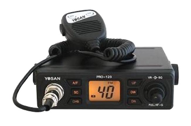 CB RADIO CB YOSAN PRO-120 AM FM RF-GAIN [F791