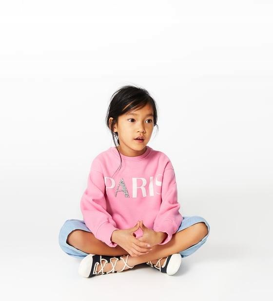 nowa bluza zara dziecko 128 paris