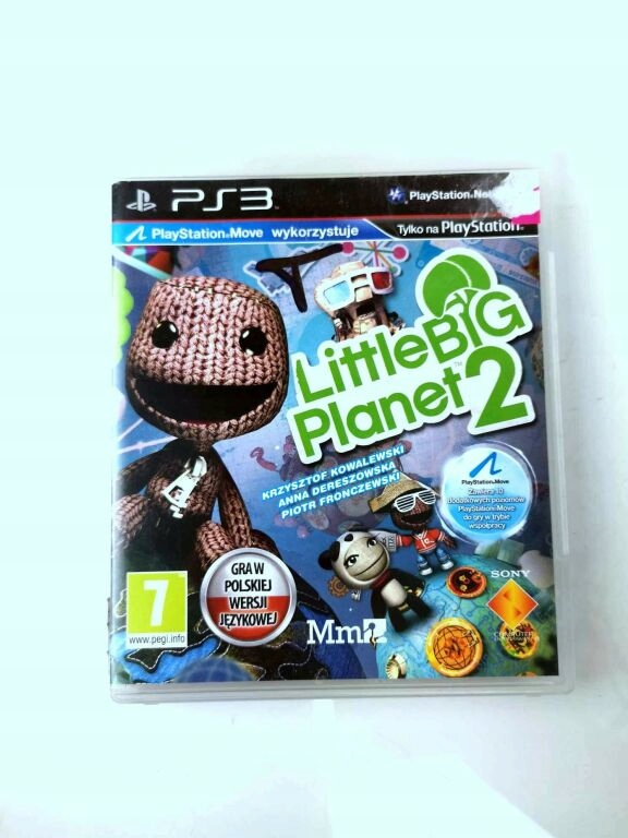 Gra Ps3 Little Big Planet 2 Playstation Move 10028075066 Oficjalne Archiwum Allegro