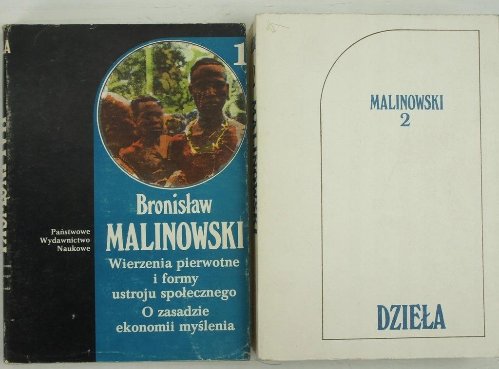 Bronisław Malinowski x 2 książki
