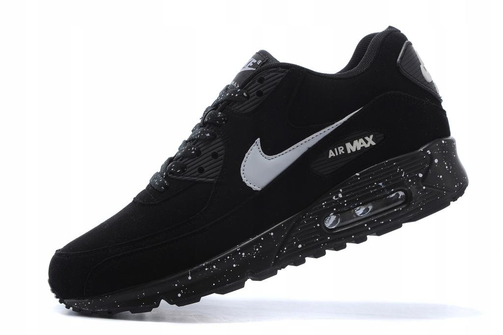 Nike Air Max 90 Essential Oreo   Czarne z białym Oreo