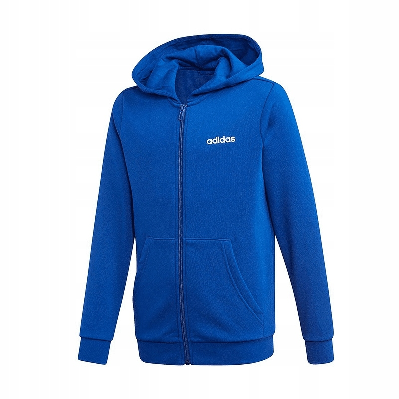 adidas JR Essentials Linear Hoodie Bluza 001 L 164
