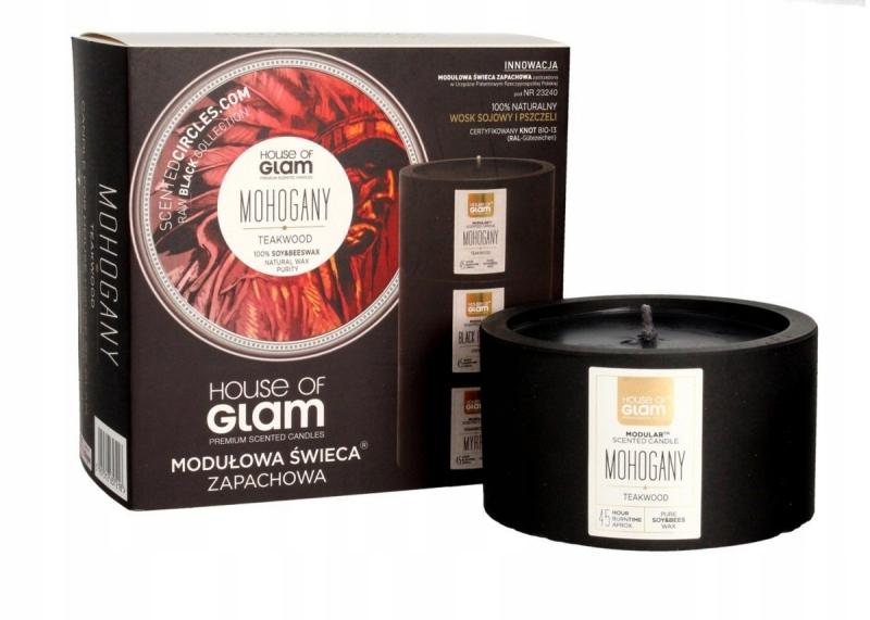 House Of Glam Modułowa Świeca zapachowa Mohogany