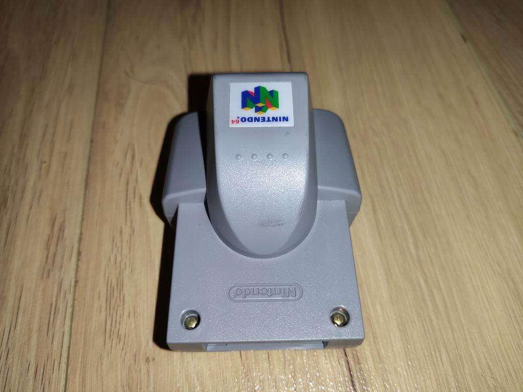Rumble Pak do Nintendo 64 NUS-013 Wibracje