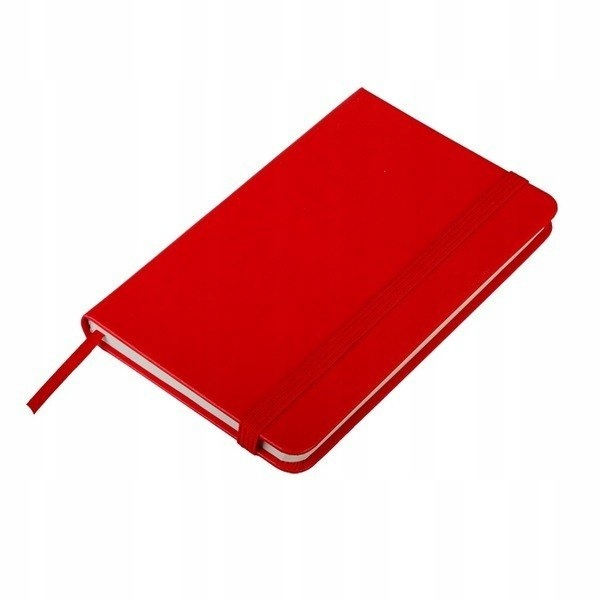 Notatnik 80x127/80k kratka Palencia, czerwony