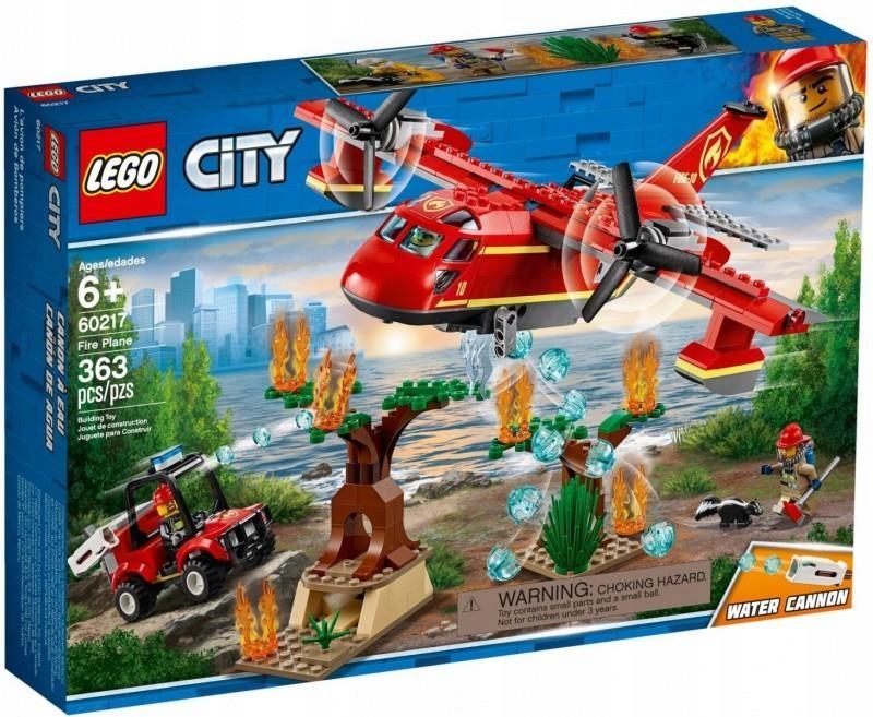 LEGO 60217 Klocki City Samolot strażacki