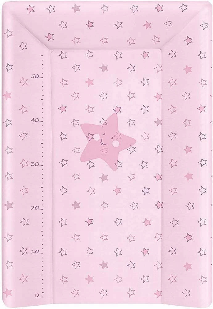 Mata do przewijania BabyCalin 50x70 cm różowa