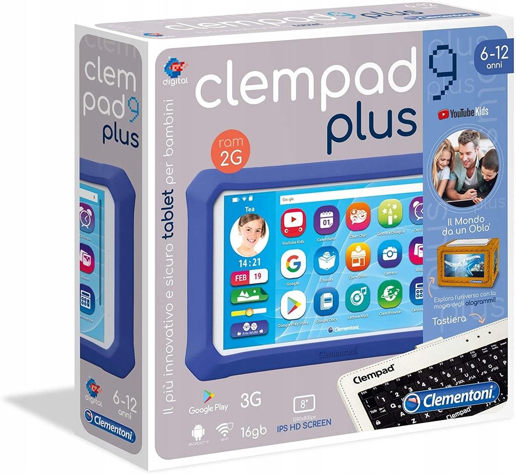 Tablet edukacyjny, Clementoni Clempad 9 Plus