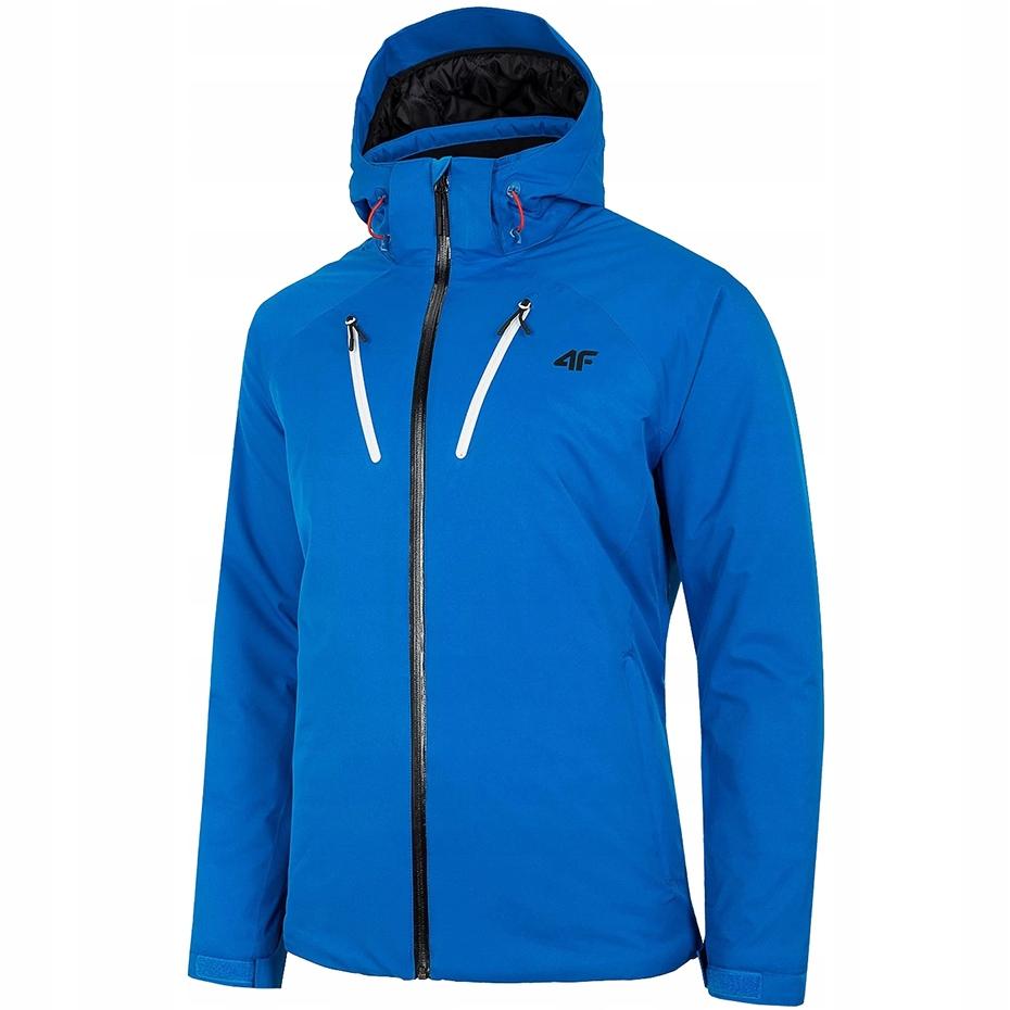 Kurtka narciarska męska 4F niebieska H4Z20 KUMN005