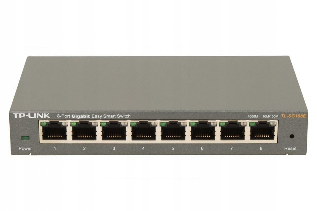 TP-LINK TL-SG108E 8x1GbE Smart Switch