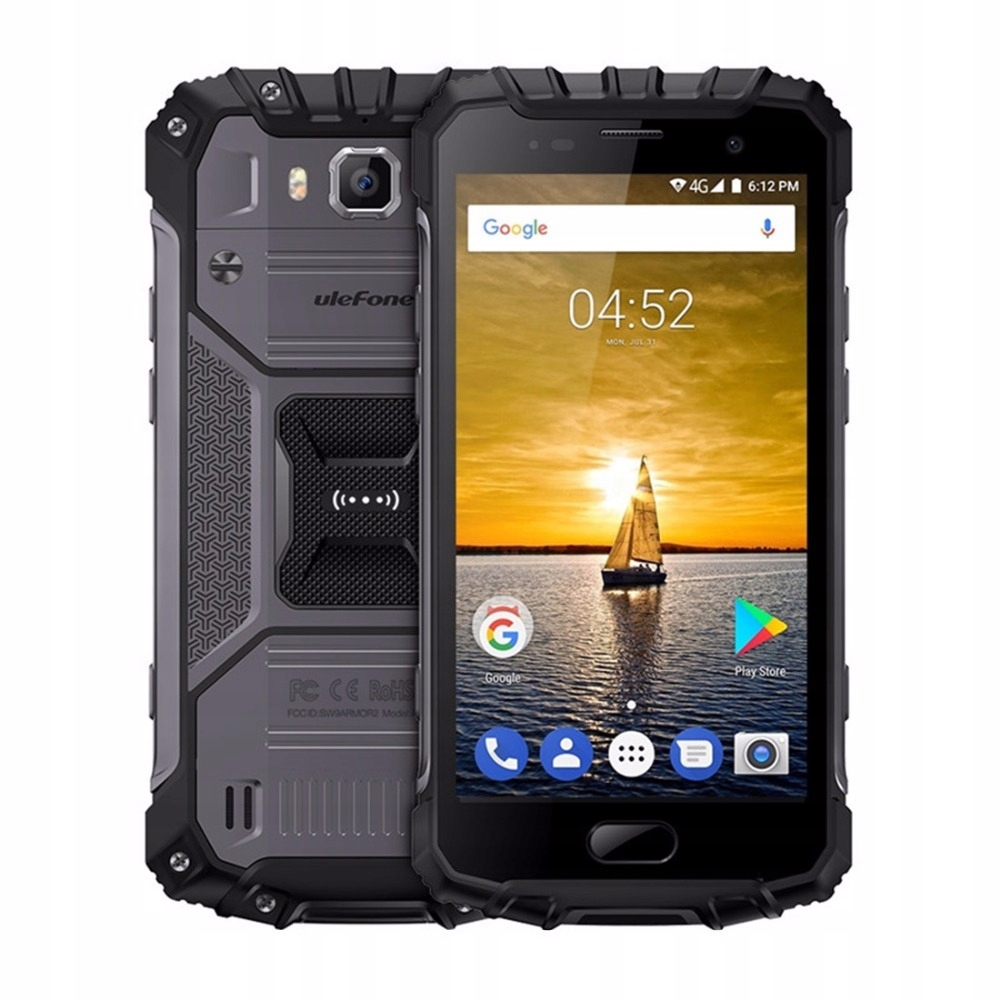 Telefon Ulefone Armor 2 IP68 6/64GB A7.0 NFC Szary