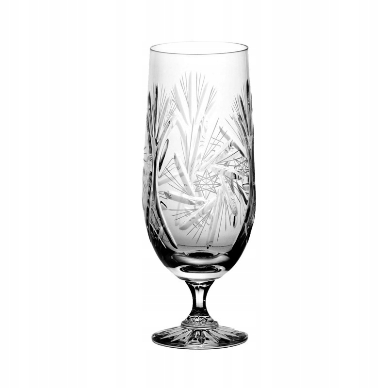 Pokale do piwa kryształowe 6 sztuk 1040 JULIA