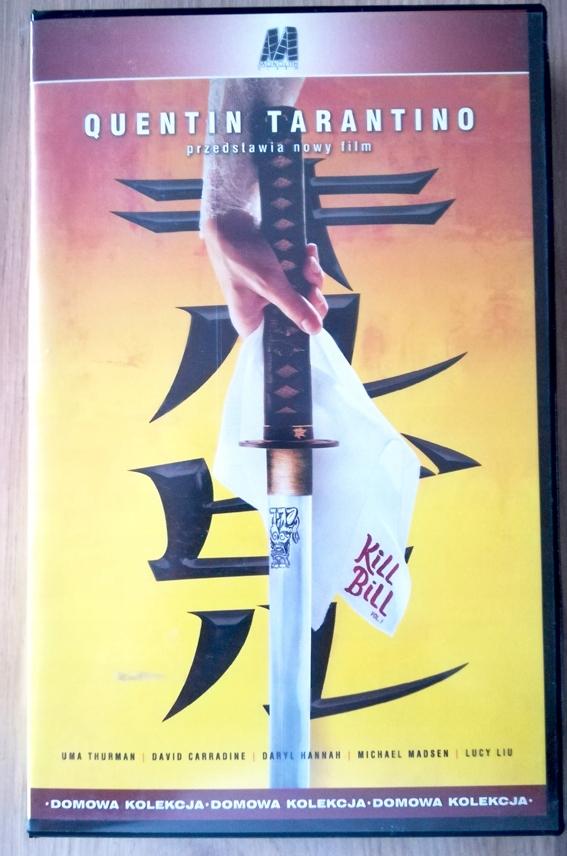 Tarantino Kill Bill vol 1 VHS