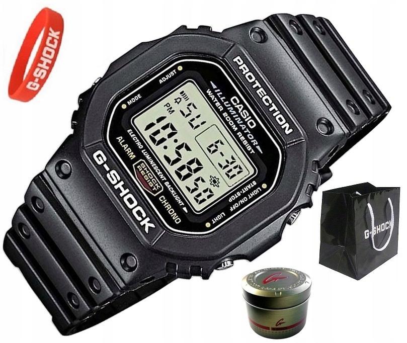 MĘSKI ZEGAREK CASIO G-SHOCK DW-5600E-1VER 200 M OP