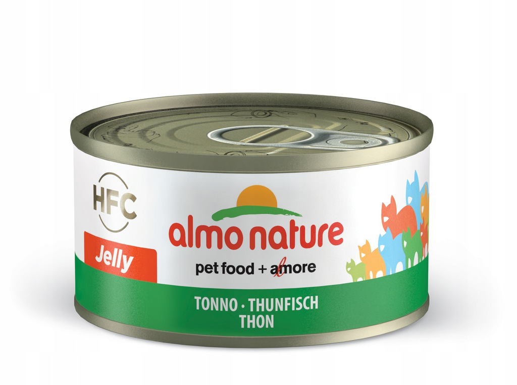 ALMO NATURE HFC Jelly - tuńczyk 70 g