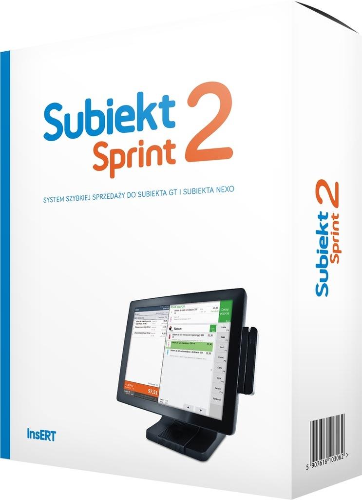InsERT Subiekt Sprint 2 rozszerzenie +1stan. PROMO