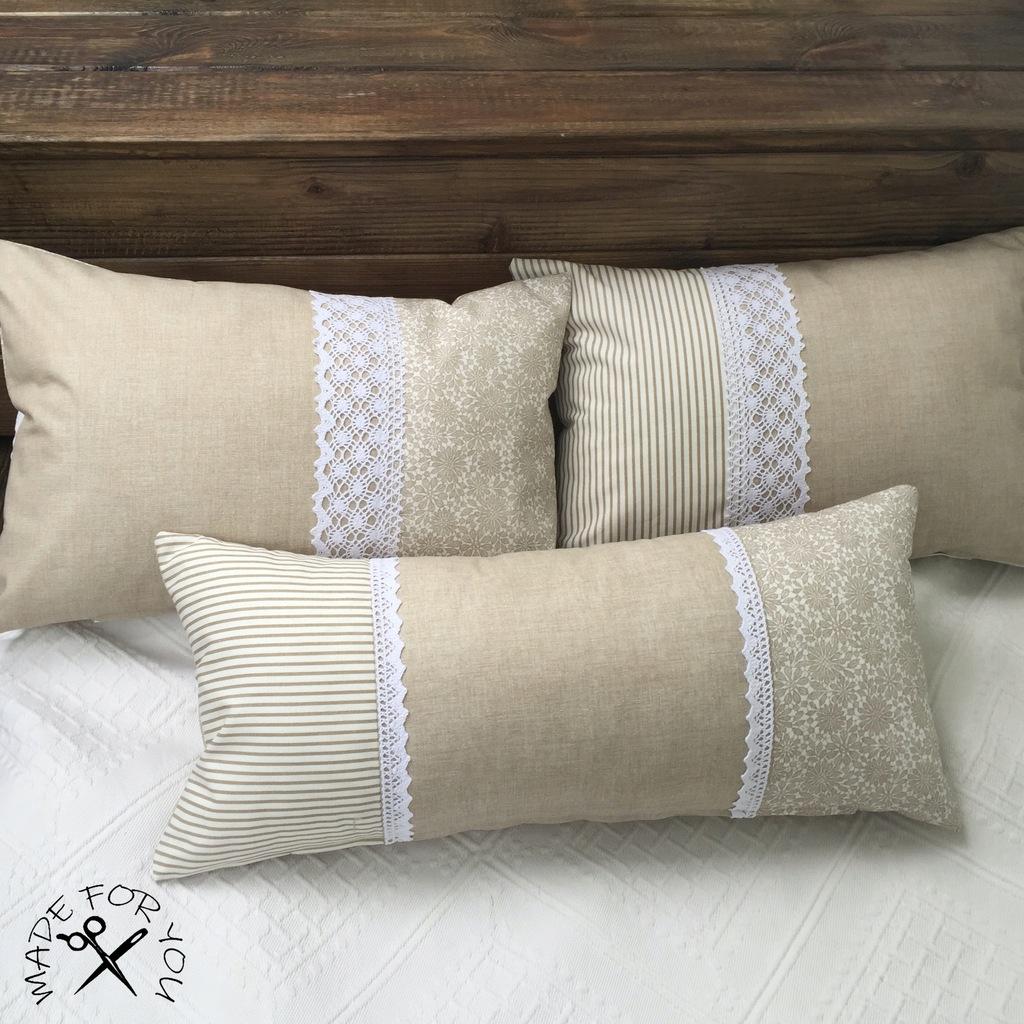 Poduszki dekoracyjne handmade bawełna