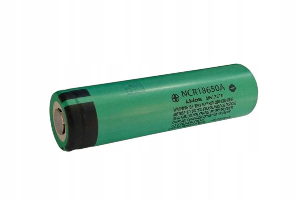Panasonic akumulator NCR18650A 3100mAh Li-ion
