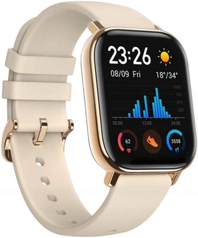 Złoty Smartwatch XIAOMI Amazfit GTS GPS 50ATM