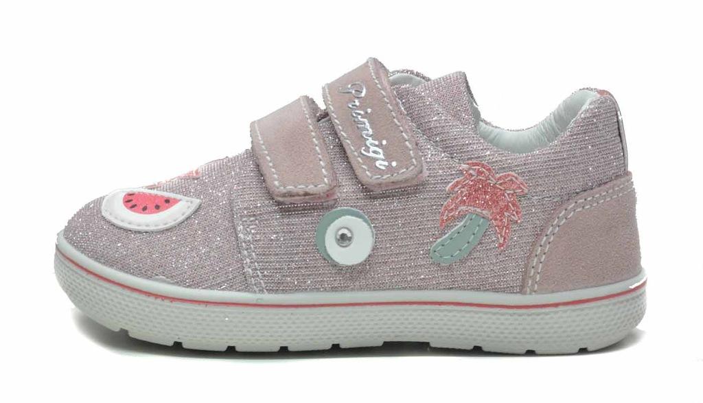 PRIMIGI 1358211 różowe trampeczki 25