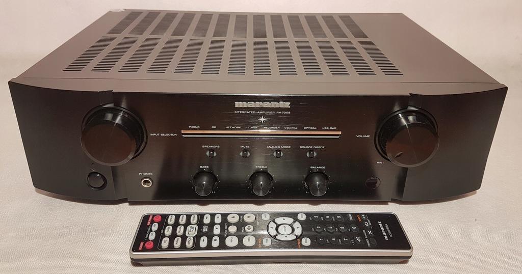 Marantz PM7005 z DAC- genialny wzmacniacz stereo