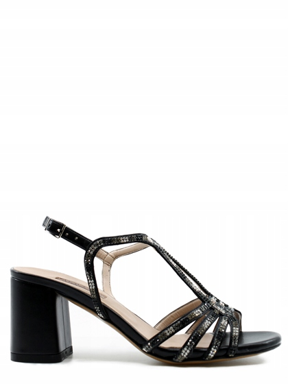 Albano sandali neri in pelle s