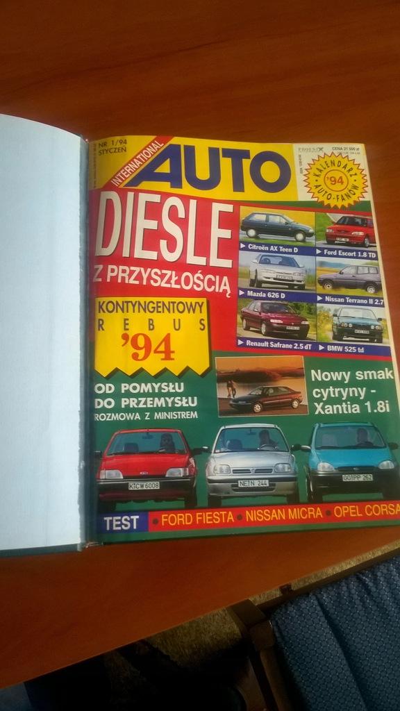 Auto International - Rocznik 1994 Twarda oprawa