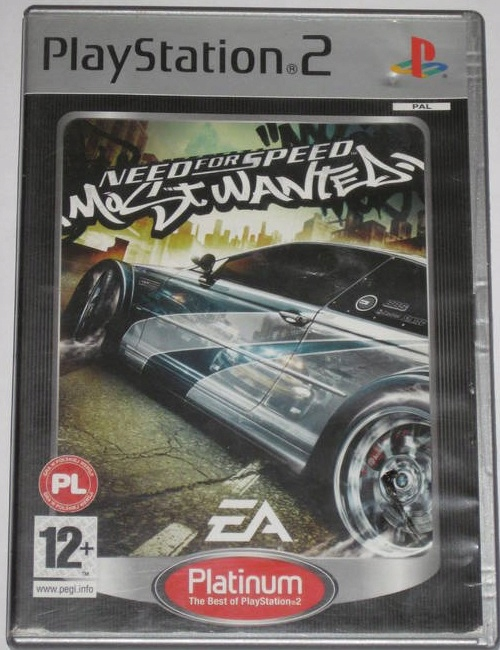 Need For Speed Most Wanted 911 Ps2 8498471383 Oficjalne Archiwum Allegro