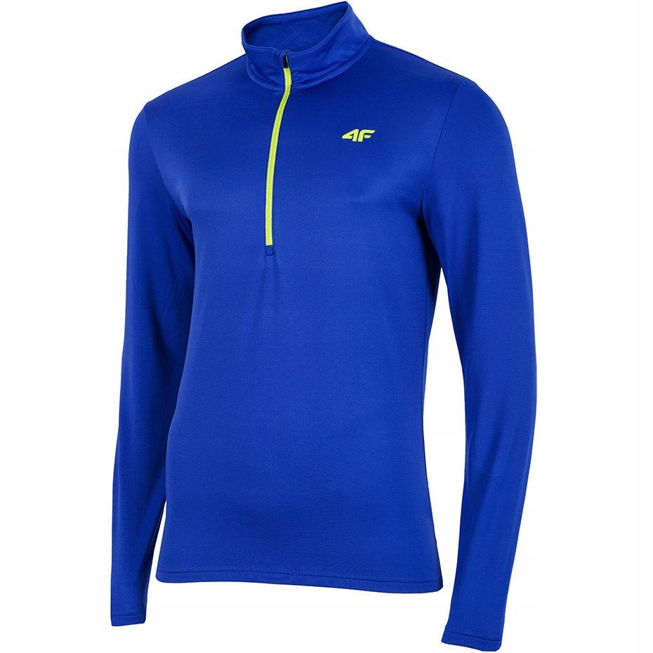 Bluza termoaktywna męska 4F niebieska H4Z19 BIMD00