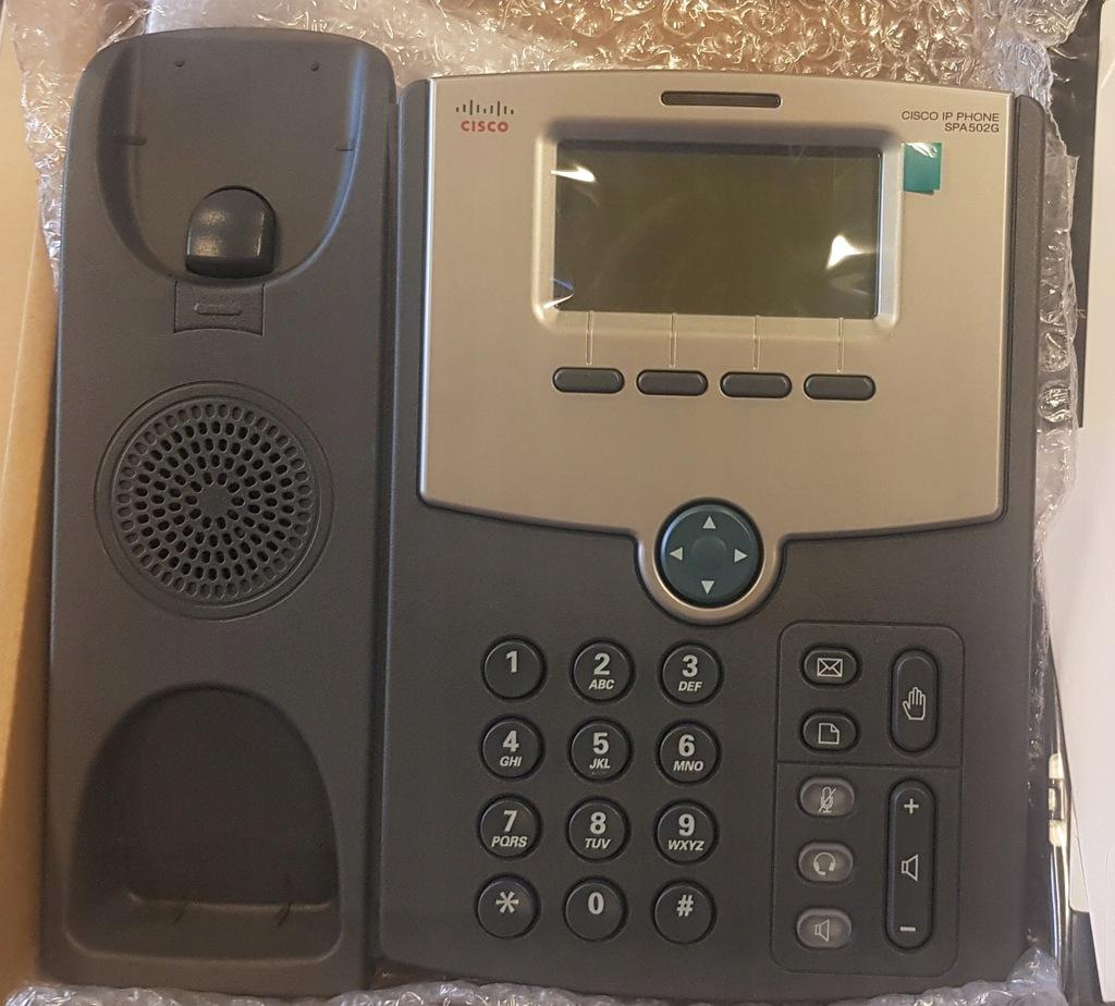 Telefon CISCO SPA502G- nowy, nieużywany