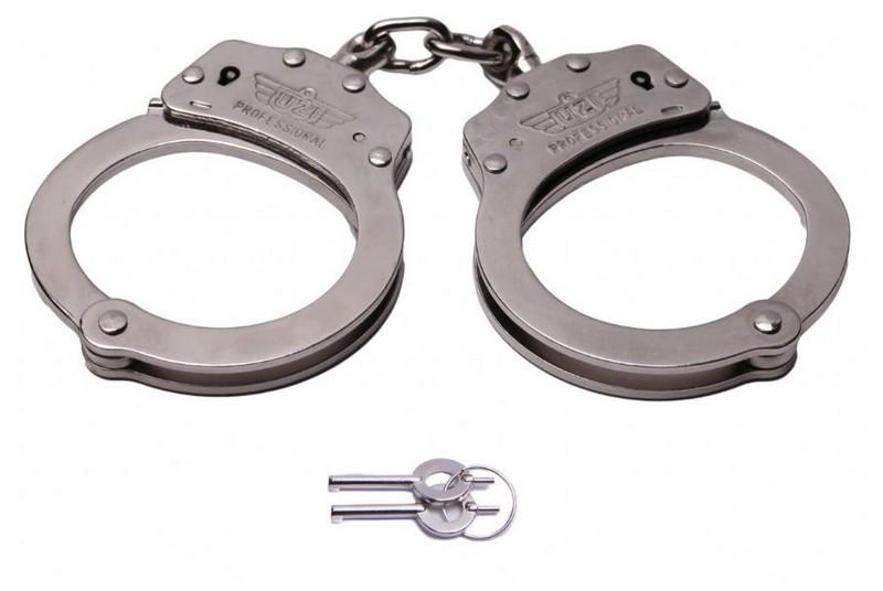 Kajdanki łańcuszkowe UZI Professional Handcuff