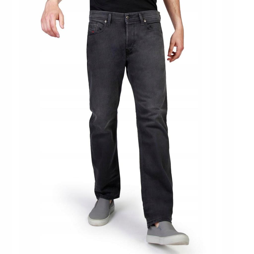 Diesel spodnie męskie jeans szary 29