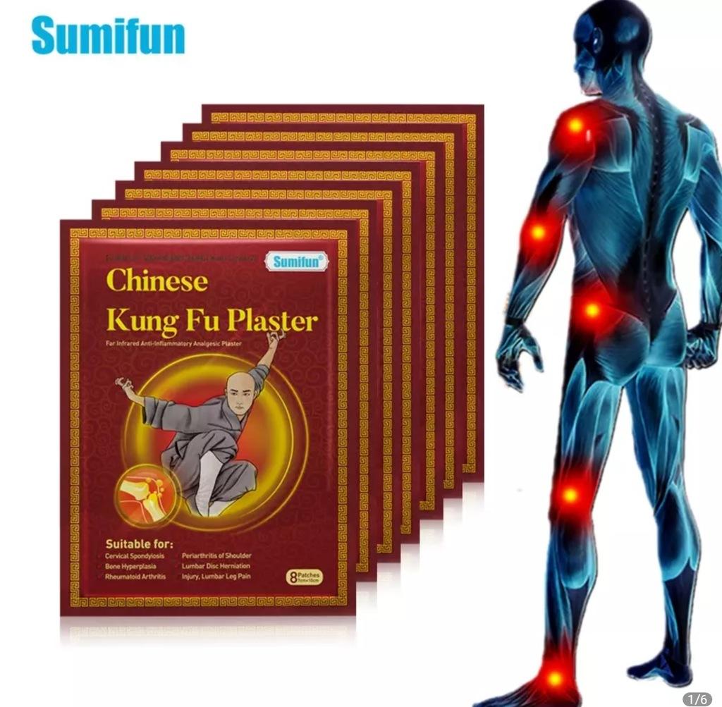 Plaster Shaolin Kung Fu artretyzm regeneracja 8szt