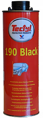 VALVOLINE TECTYL 190 BLACK BARANEK POD PISTOLET 1L
