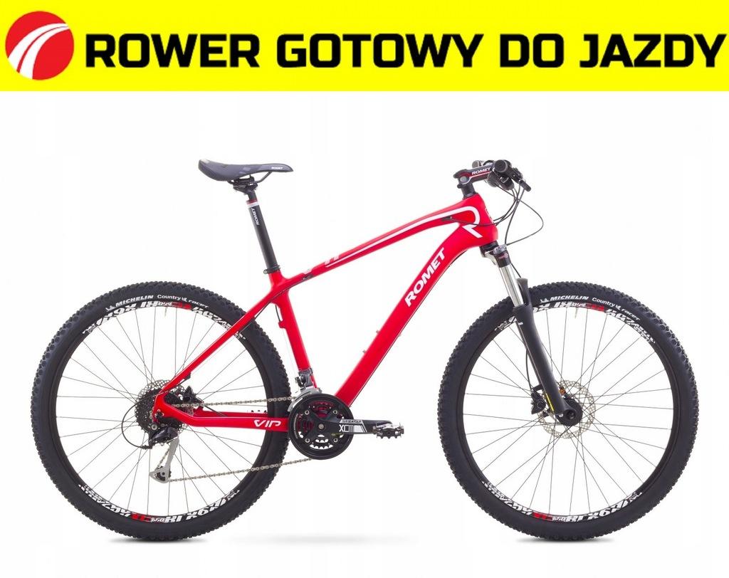 17V27001 - 18 Rower ROMET VIP 27,5 czerwony